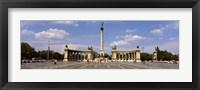Framed Hero Square, Budapest, Hungary