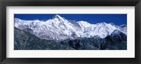 Framed Cho Oyu from Goyko Valley Khumbu Region Nepal