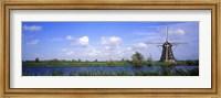 Framed Windmill Holland