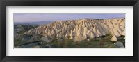 Framed Hills on a landscape, Cappadocia, Turkey