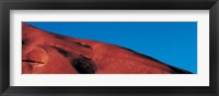 Framed Climbers Ayers Rock Uluru Park Australia