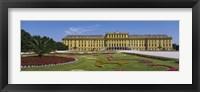 Framed Facade of a building, Schonbrunn Palace, Vienna, Austria