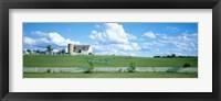 Framed Dairy Farm Janesville, Wisconsin, USA