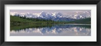 Framed Wonder Lake Denali National Park AK USA
