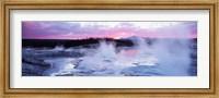 Framed Sunset, Norris Geyser Basin, Wyoming, USA