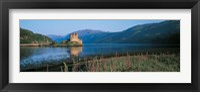 Framed Eilean Donan Castle & Loch Duich Scotland