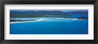Framed White Heaven Beach Great Barrier Reef Queensland Australia
