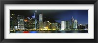 Framed View From Wanchai, Central District, Hong Kong