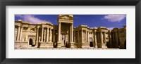 Framed Facade of a theater, Roman Theater, Palmyra, Syria