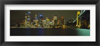 Framed Sydney Harbor Bridge, Australia