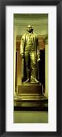 Framed Jefferson Memorial, Washington DC