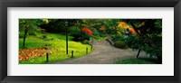 Framed Japanese Garden, Seattle, Washington State