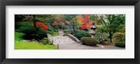 Framed Stone Bridge, The Japanese Garden, Seattle, Washington State