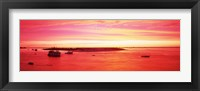 Framed Sunrise Chatham Harbor Cape Cod MA USA