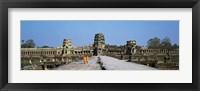 Framed Angkor Wat Cambodia
