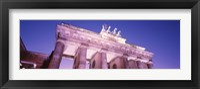 Framed Dusk, Brandenburg Gate, Berlin, Germany