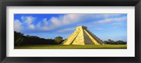 Framed Pyramid in a field, Kukulkan Pyramid, Chichen Itza, Yucatan, Mexico
