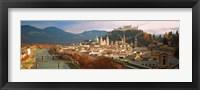 Framed Cityscape Salzburg Austria