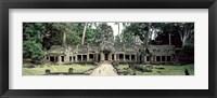 Framed Preah Khan Temple, Angkor Wat, Cambodia