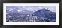 Framed Winter, Salzburg, Austria