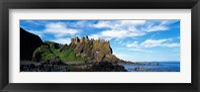 Framed Dunluce Castle, Antrim, Ireland