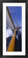 Framed Yacht Mast Caribbean