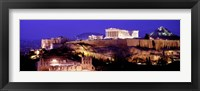 Framed Acropolis at Night