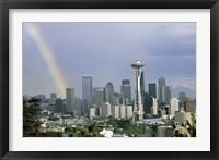 Framed Rainbow Seattle WA