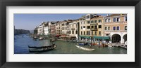 Framed View of the Grand Canal, Venice Italy