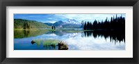 Framed Cascade Mountains, Oregon, USA