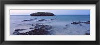 Framed Rock formations, Bermuda, Atlantic Ocean