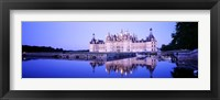 Framed Chateau Royal De Chambord, Loire Valley, France