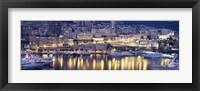 Framed Harbor Monte Carlo Monaco