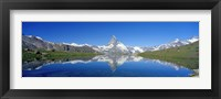 Framed Matterhorn Zermatt Switzerland