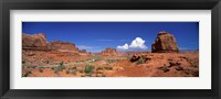 Framed Arches National Park, Moab, Utah, USA