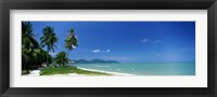 Framed Tropical Beach Penang Malaysia