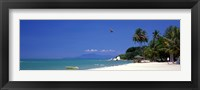 Framed White Sand Beach Penang Malaysia