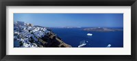 Framed Santorini Greece