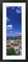Framed Geneva Switzerland (vertical)