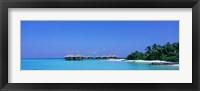 Framed Beach Cabanas, Baros, Maldives