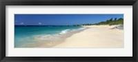 Framed Warwick Long Bay Beach Bermuda