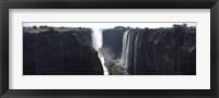 Framed Waterfall, Victoria Falls, Zambezi River, Zimbabwe