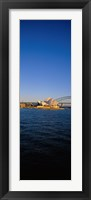 Framed Buildings on the waterfront, Sydney Opera House, Sydney, New South Wales, Australia