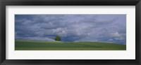Framed Storm clouds over a field, Zurich Canton, Switzerland