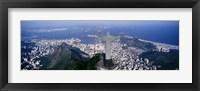 Framed Aerial, Rio De Janeiro, Brazil