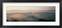 Framed Farm Tuscany Italy