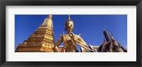 Framed Wat Phra Kaeo, Grand Palace, Bangkok, Thailand