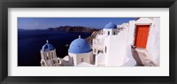 Framed Church in a city, Santorini, Cyclades Islands, Greece