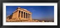 Framed Ruins of a temple, Parthenon, Athens, Greece
