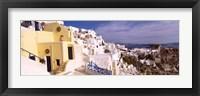 Framed Buildings in a city, Santorini, Cyclades Islands, Greece